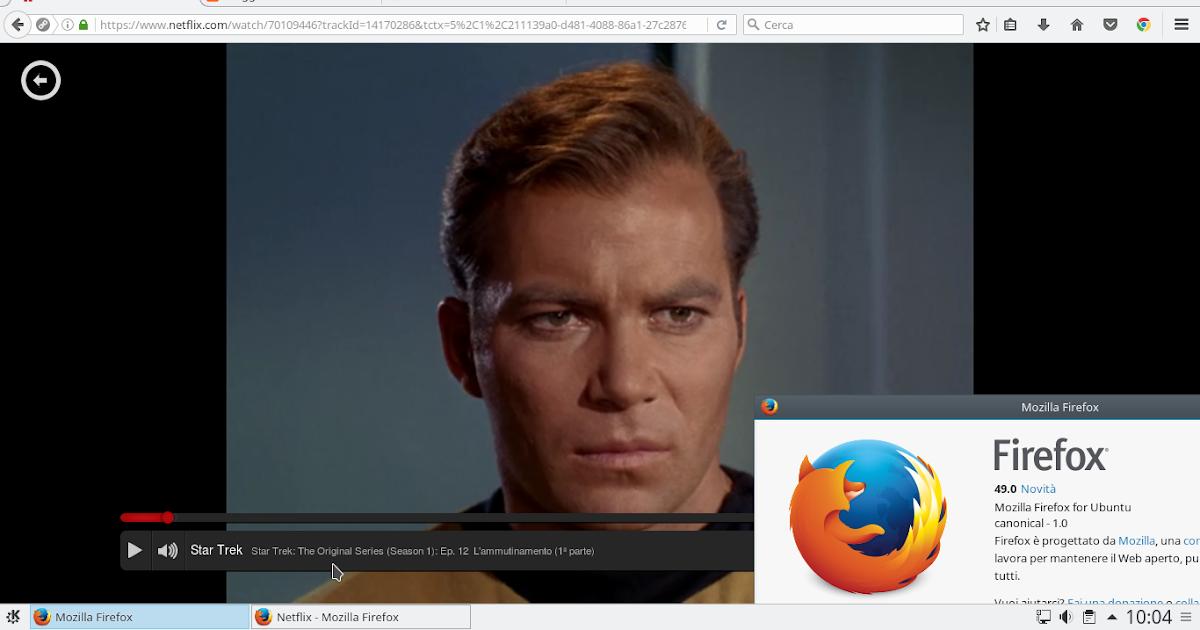 Come guardare Netflix su Linux con Firefox 49