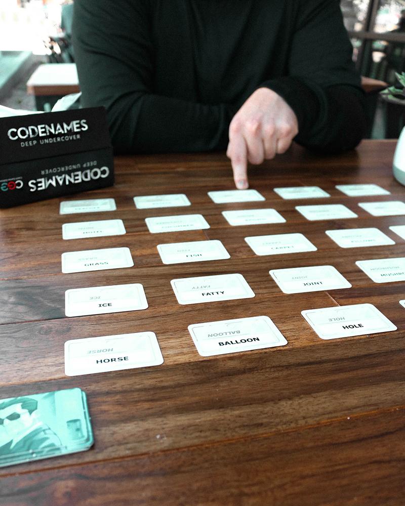 codenames deep undercover, codenames, adult board game