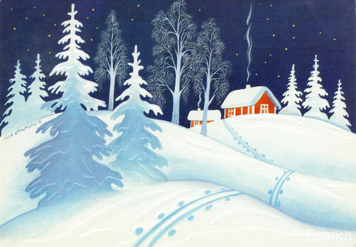 многие могут рисунок на тему зимушка-зима обзоре