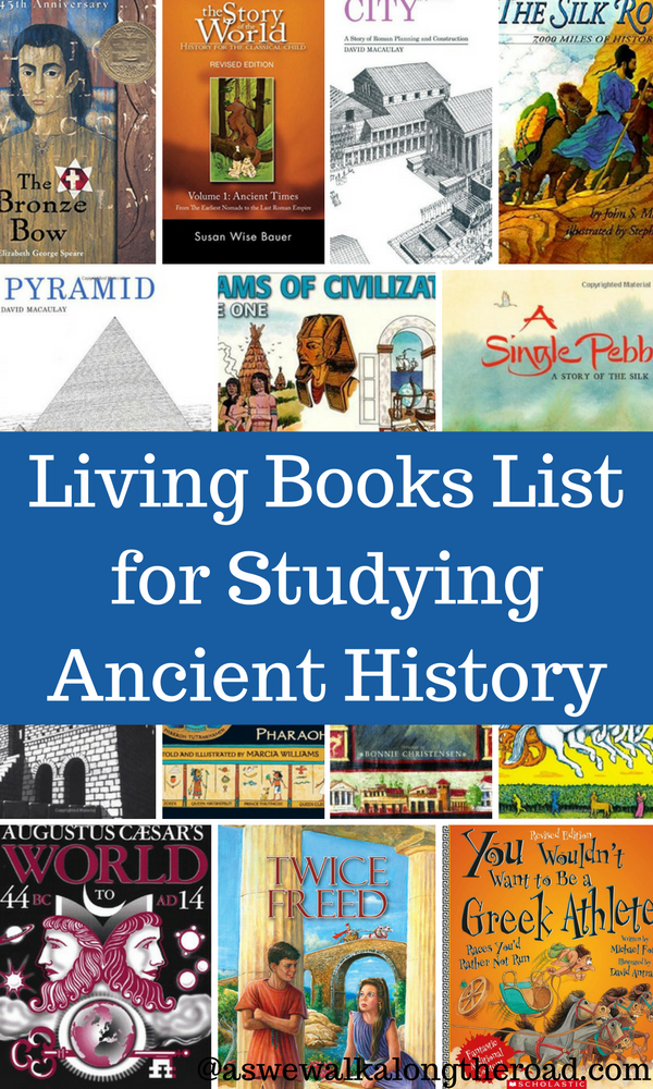 Living books for ancient history