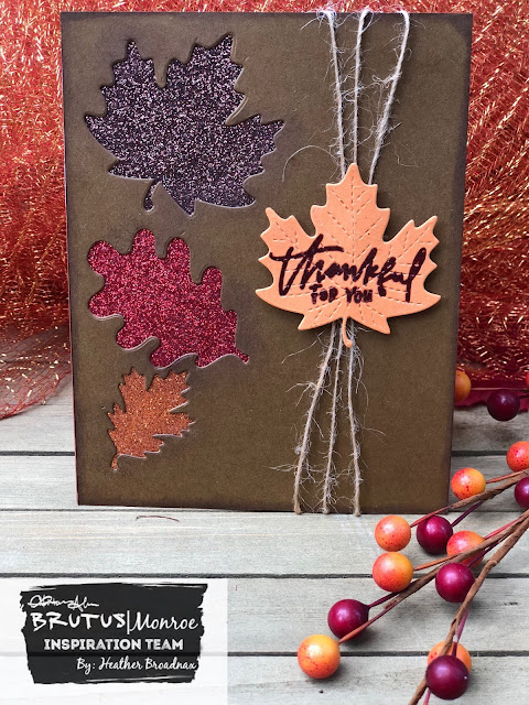 Simple Way to Add Shimmer to Fall Leaves