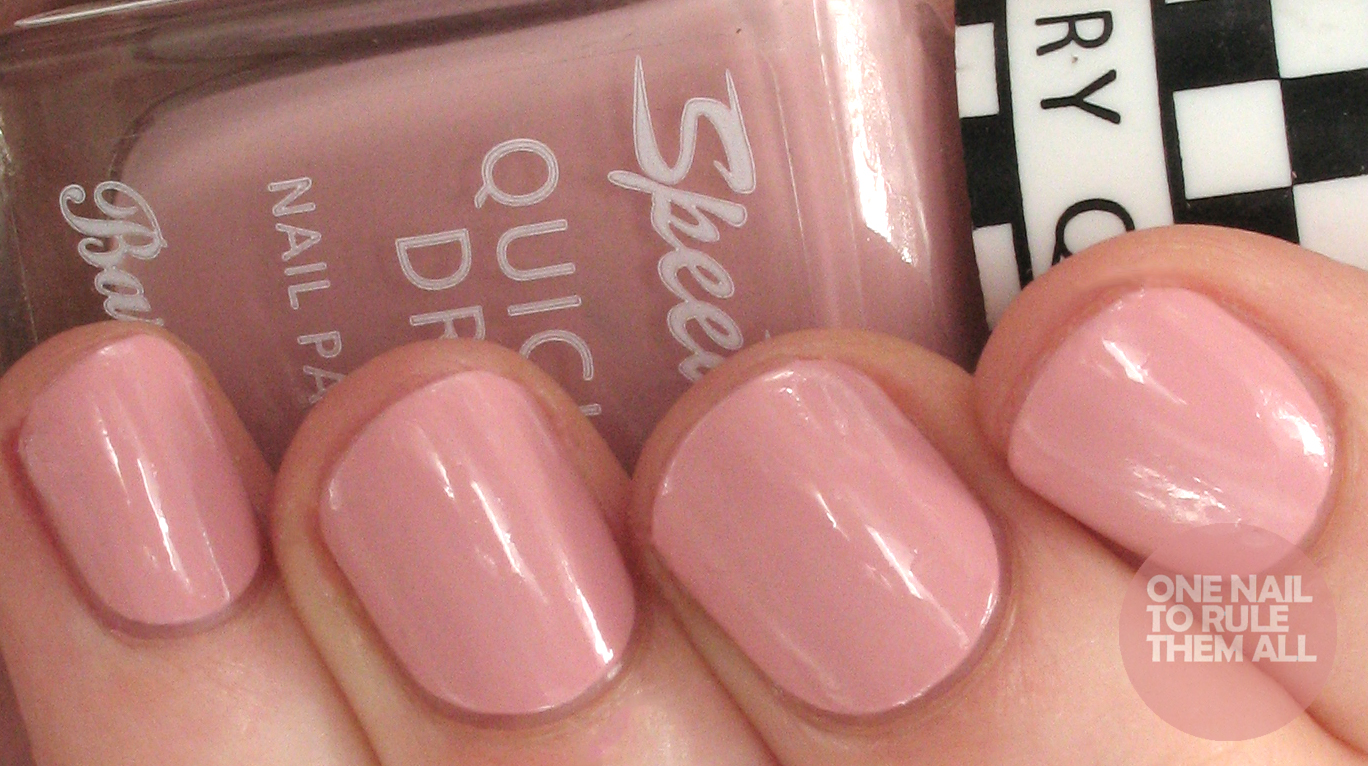 One Nail To Rule Them All: Barry M Spring/Summer 2016 Speedy Quick ...