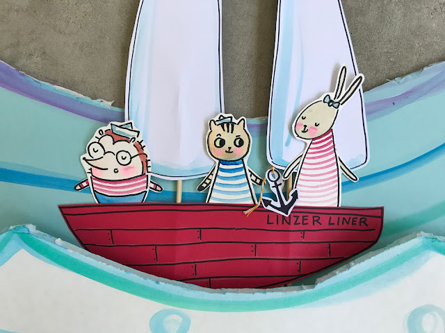 Happy Summer Stop Motion Animated Video from Linzer Lane Blog