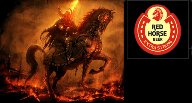 Symbolisms In Red Horse Beer