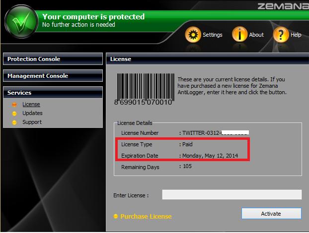 [عرض جديد] أحصل على 3 اشهر مجانية للنسخة المدفوعة من برنامج الحماية الرهيب  Zemana to AntiLogger