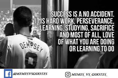 Success is not a accident