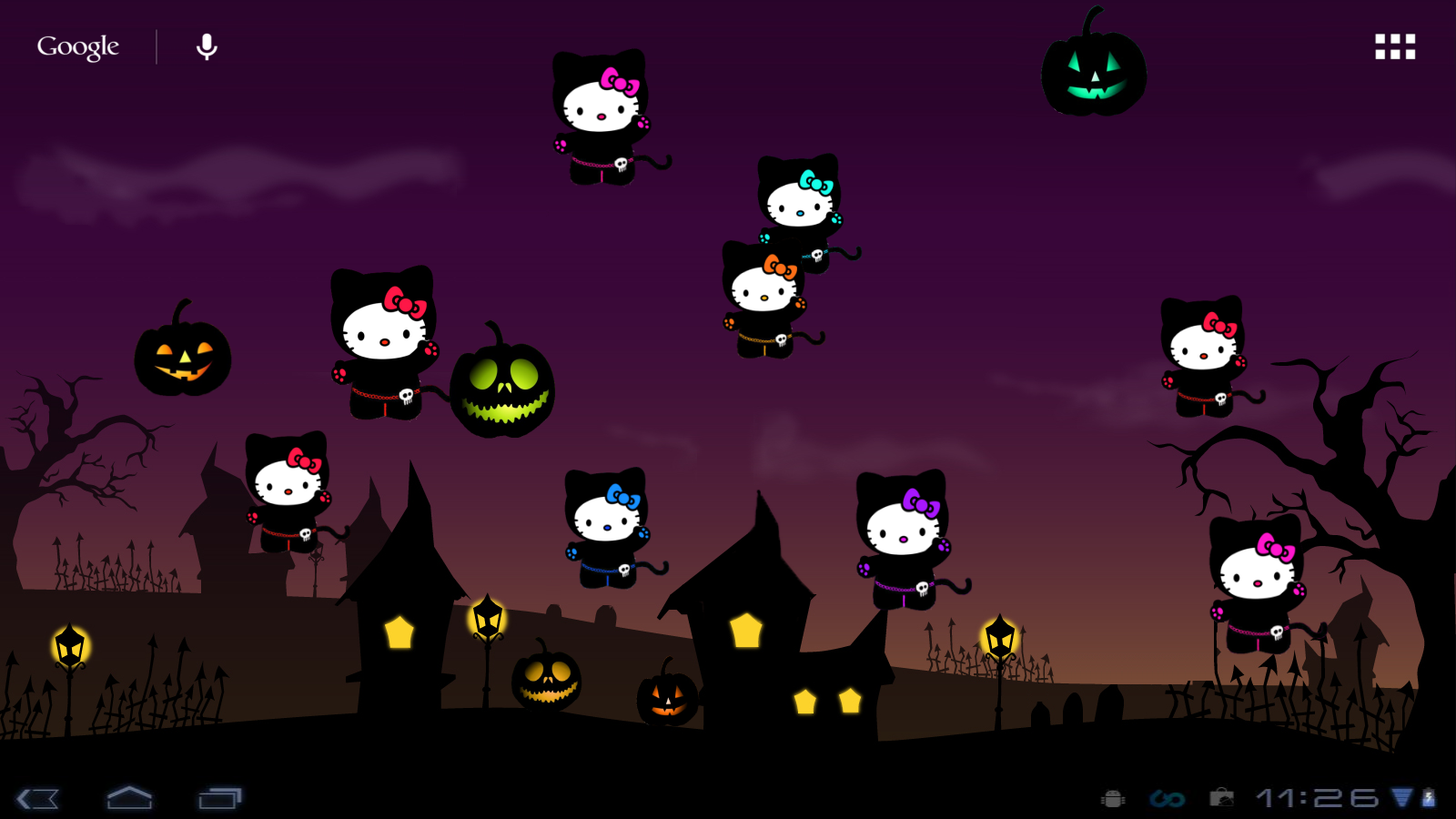hello kitty loft: hello kitty halloween live wp