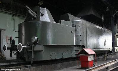 Supuestas imágenes del tren del oro nazi