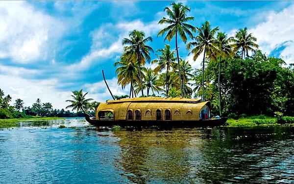 Kovalam Beach  Alleppey houseboat  Hotel Taj Vivanta