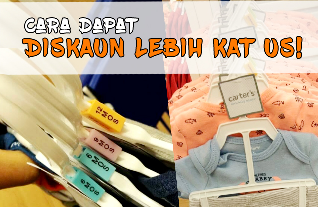 Cara Dapatkan Diskaun Lebih Beli Barang Baby Branded Kat US