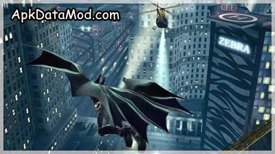 The Dark Knight Rises Justice Bat Wing Apk