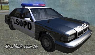 gta san andreas copcarla los santos police car