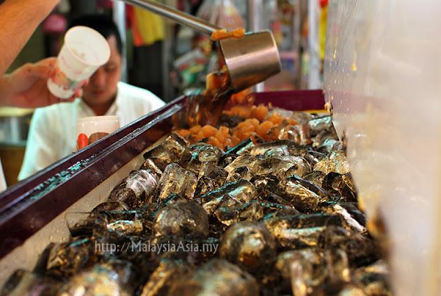 Petaling Street Air Mata Kuching Drink Stall