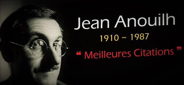 Photo de Jean Anouilh avec ses plus belles citations