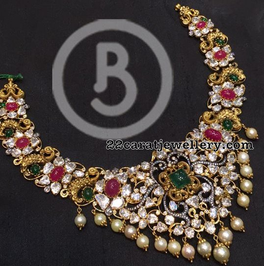 Pachi Necklace by Bombay Jewellers