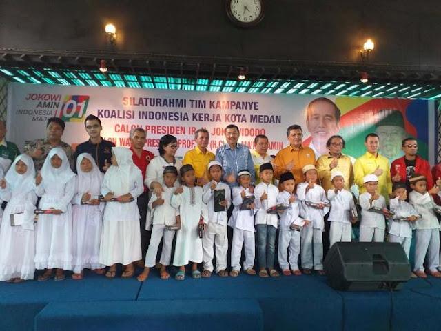 HT Erry Nuradi: Posisi Paslon Jokowi-Maˊruf di Medan Mengkhawatirkan, Ajak Koalisi Kerja Keras