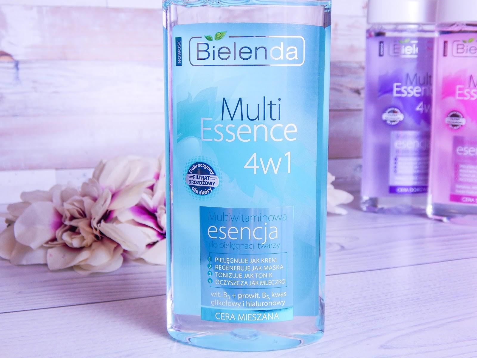 9 multi essence 4w1 bielenda recenzja multiwitamicowa esencja do pielęgnacji twarzy