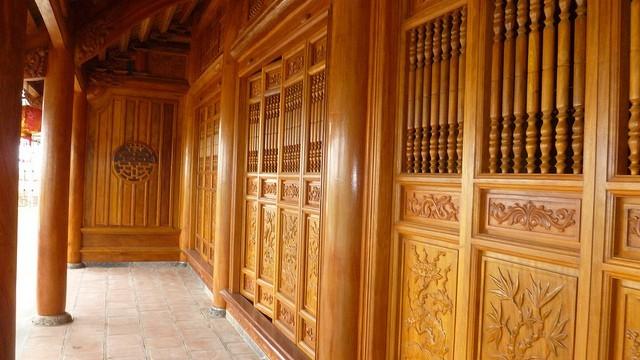 nhà gỗ 5 gian gỗ xoan đào