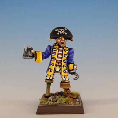 Talisman Pirate, Citadel (sculpted by Aly Morrison, 1987)