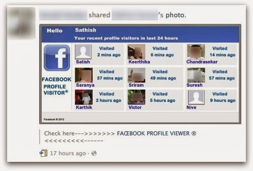 How to check the profile visitors in facebook