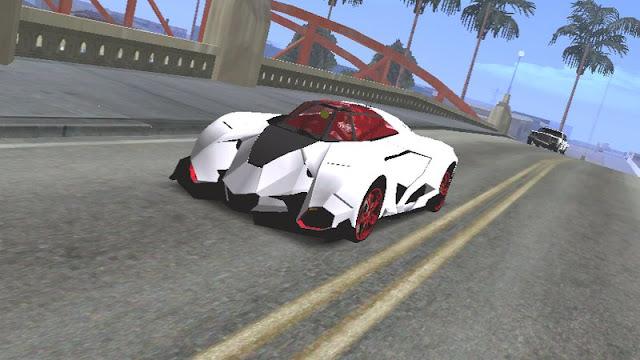 Lamborghini Egoista Concept Car Mod [DFF ONLY]