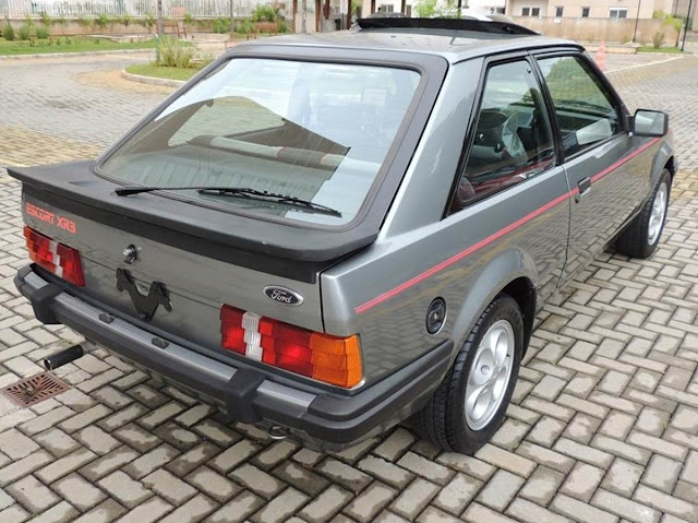 Ford Escort XR-3 1985