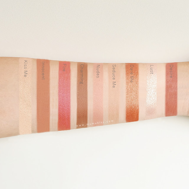 tease me swatches review