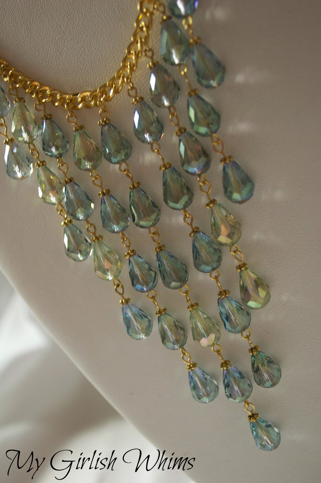 Mermaid Necklace Tutorial - My Girlish Whims