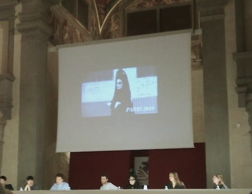 Diane Pernet at Europeana Fashion International Conference