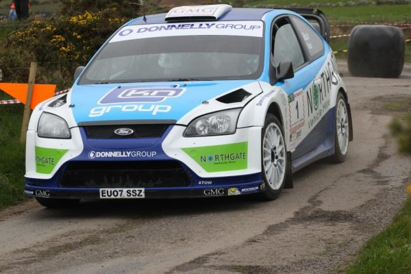 Donagh-Kelly-in-his-Ford-Focus-WRC-on-co
