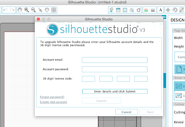 lost silhouette studio license code, designer edition code, designer edition upgrade