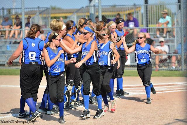 Germantown Hills Softball 3rd in State, Metamora Herald