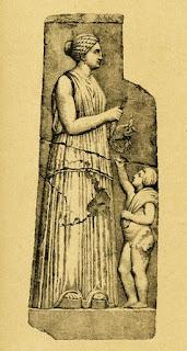 Τελέσιλλα. Γκραβούρα από το βιβλίο του Ιωάννου Κ. Κοφινιώτου, «Ιστορία του Άργους από των Αρχαιοτάτων χρόνων μέχρις ημών ».