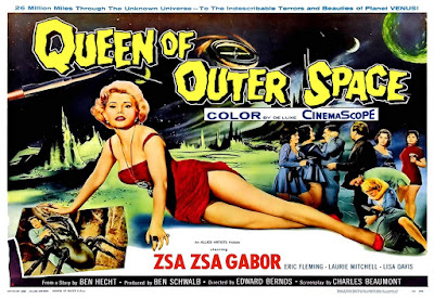 Queen Of Outer Space 1958 Zsa Zsa Gabor Image 3