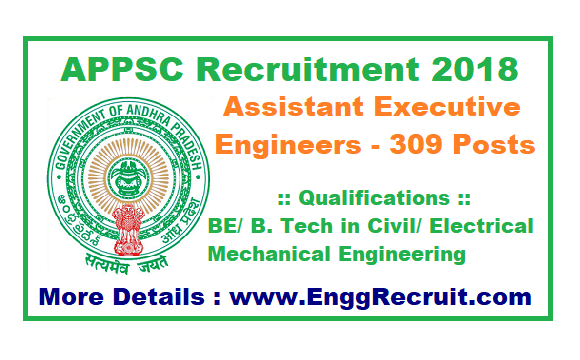 APPSC Recruitment 2018
