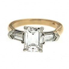 Give Her An Emerald Cut Engagement Ring