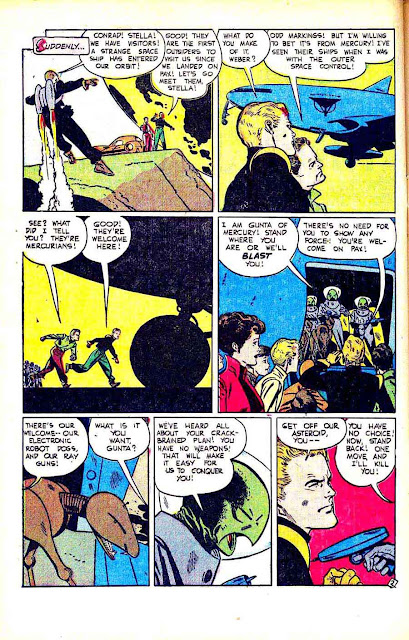 Fantastic Worlds v1 #5 standard comic book page art by Alex Toth