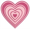 Lifestyle Crafts NESTING HEARTS dies