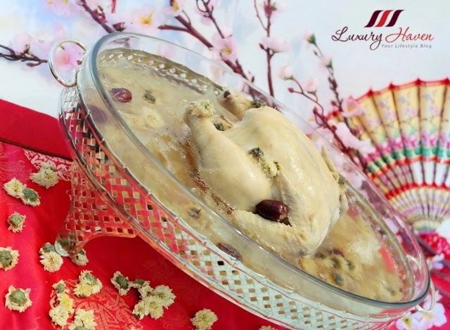 chinese new year chrysanthemum chicken soup recipe