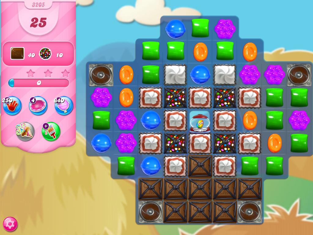Candy Crush Saga level 3205