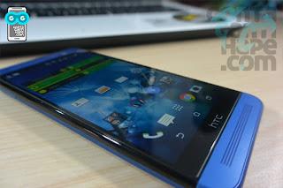 HTC One E8 - layar berkualitas tinggi