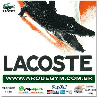 135cde2d992f1 ... é caso da Lacoste onde a Arquegym oferece os melhores produtos  oferecidos pela marca no segmento tanto para o casual