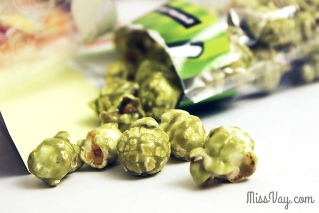 Patissier Popcorn - thé vert au lait