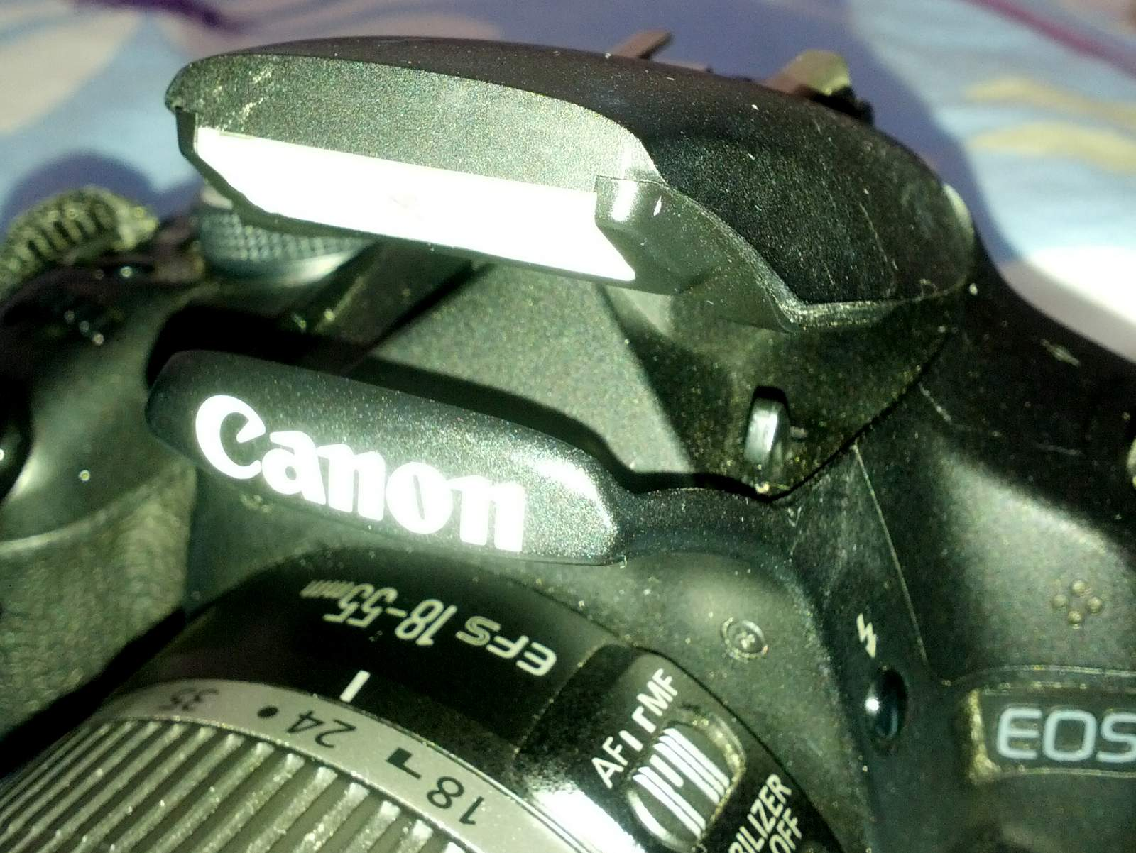 How to fix the popup flash on your camera (Canon DSLR
