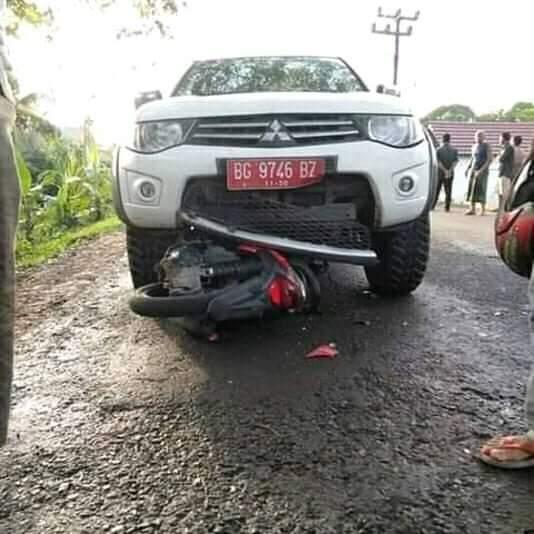 2 Pelajar Tewas Ditabrak Mobil KPP Pratama Sekayu