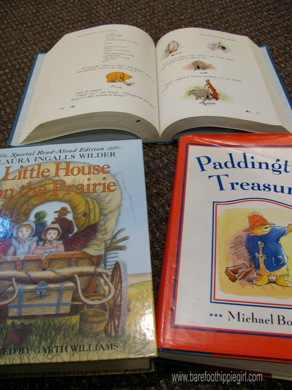 Barefoot Hippie Girl 6 Favorite Read Aloud Chapter Books