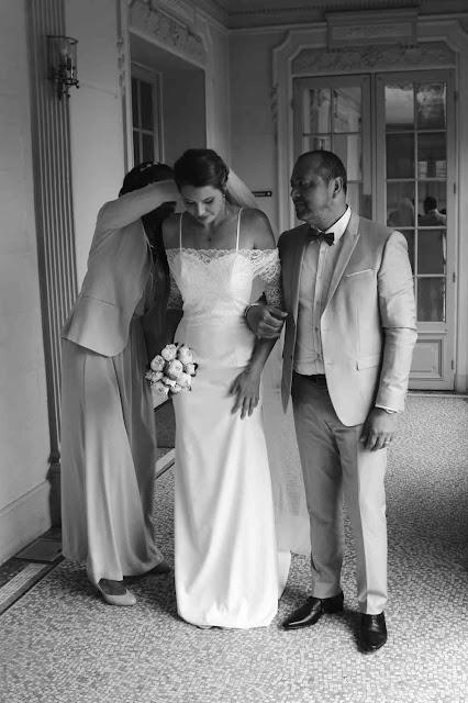robes de mariage sur mesure par couturière à Versailles