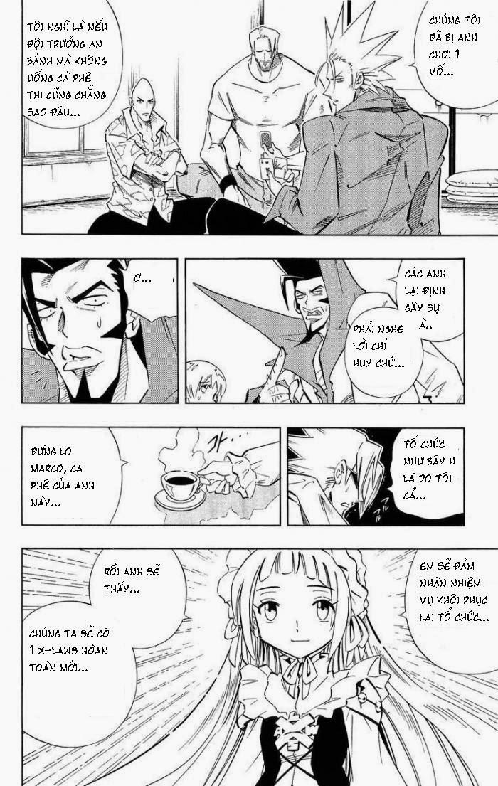 Shaman King [Vua pháp thuật] chap 219 trang 6