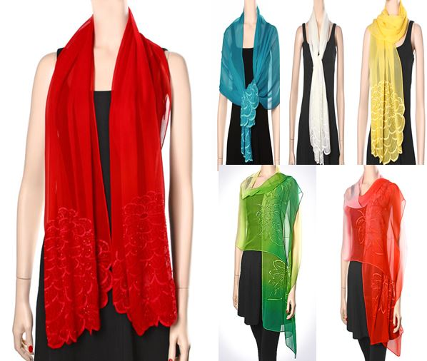 My favorite summer scarves and shawls ~ Retail/Wholesale ...
