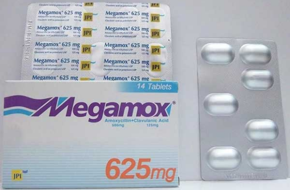 ميجاموكس اقراص للتقليل من مقاومة البكتريا المقاومة للأدوية